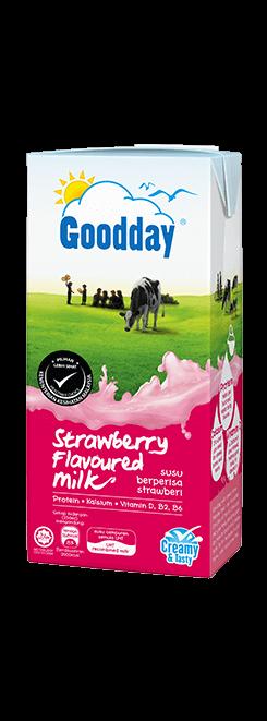 Goodday UHT Strawberry Flavoured Milk