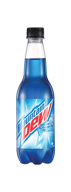 Mountain Dew Blue Shock