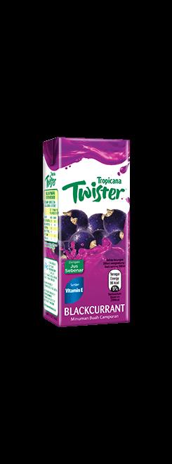Tropicana Twister Blackcurrant