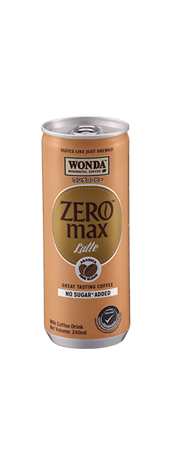 Wonda Zero Max Latte